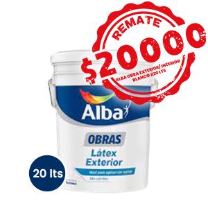 AL OBRA EXT/INT 20 LTS