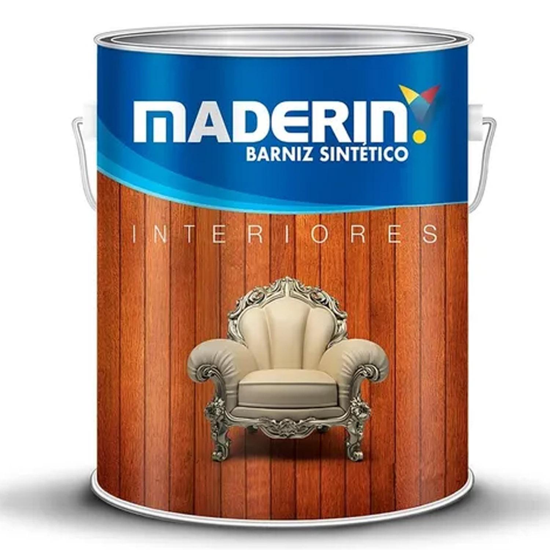 MADERIN BARNIZ SATINADO 4 LTS