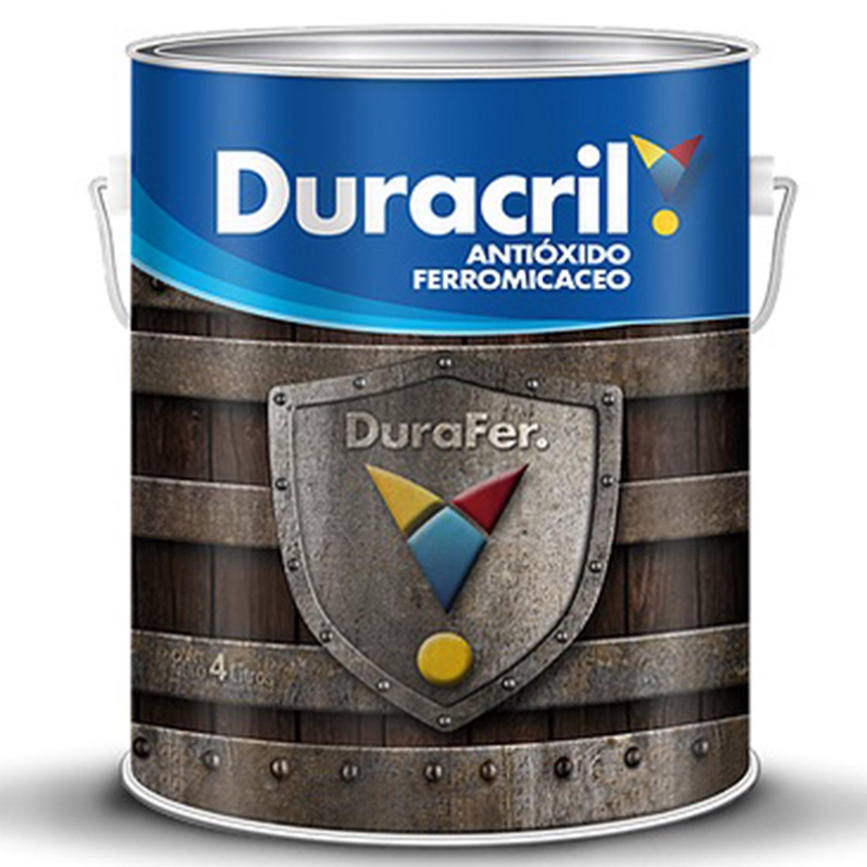 DURACRIL FERROMICACEO PLATA 4 LTS