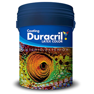 DURACRIL INT/EXT NEGRO 4 LTS
