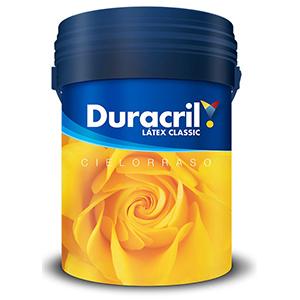 DURACRIL LATEX CLASIC CIELORASO 20 LTS