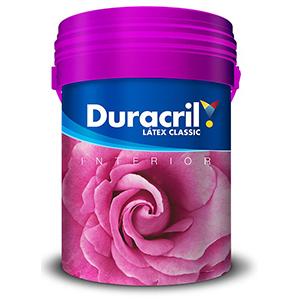 DURACRIL LATEX CLASIC INT 4 LTS
