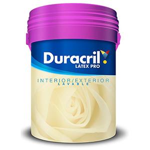 DURACRIL LATEX PRO LAVABLE 10 LTS