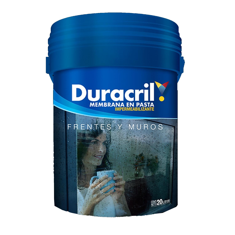 DURACRIL FRENTE Y MURO BCO 1 LTS