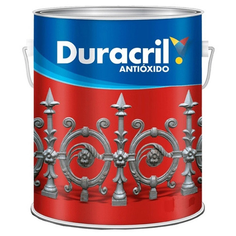 DURACRIL ANTIOXIDO NEGRO 4 LTS