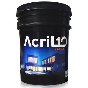 COLORDINA ACRIL10 INT/EXT 4 LTS