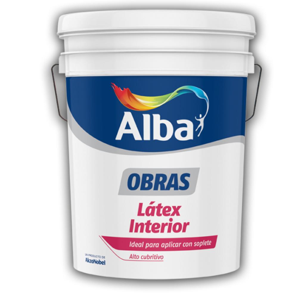WEB PROMO ALBA OBRA INT BCO  20 LTS +                                                                     1 ALBA OBRA INT BCO 20 LTS DE REGALO